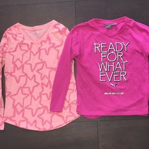 Bundle of 2 pink Long Sleeves